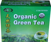 Orangic Green Tea 100 tea bags