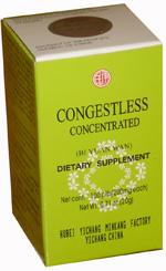Congestless Consentrated (Bi Yuan Wan for sinus health)