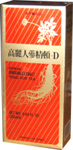 Korea Ginseng Extract for tea, with root, 8 oz