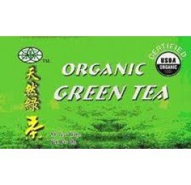Organic Green Tea 20 tea bags/box