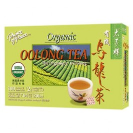 Organic Oolong Tea 100 tea bags