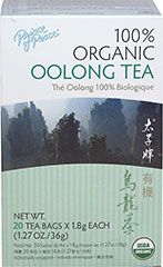 Orangic Oolong Tea 20 tea bags