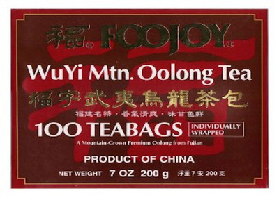 Foojoy WUYI Oolong 100 tea bags