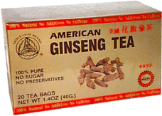 Triple Leaf, American Ginseng Tea