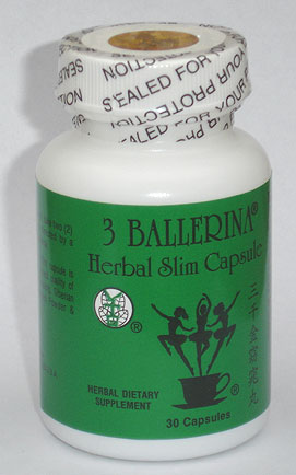 3 Ballerinas Herbal Capsule