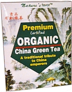 Premium Organic Green Tea, 64 bag