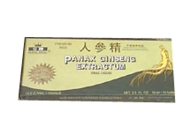 Panax Ginseng Extract, alcohol  free, 10 x 10 ml
