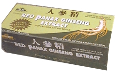 Panax Ginseng Extract, alcohol  free, 30 x 10 ml