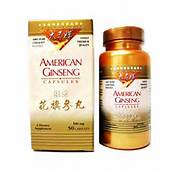 American Ginseng Capsules 100 capsules/ bottle