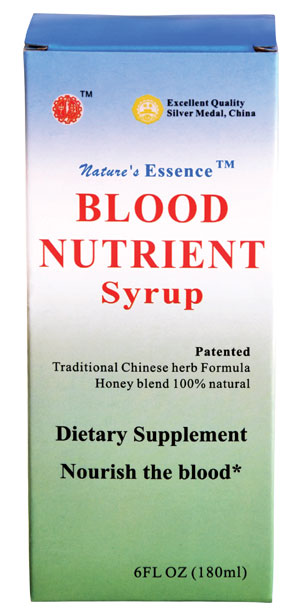 Nature's essence™ Blood Nutrient  Syrup (Samples tested by FDA), 6.1 fl oz (180 ml)