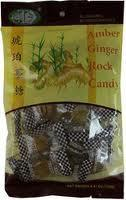 Amber Ginger Rock Candy