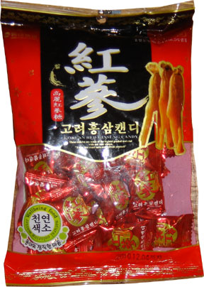 Red Korea Ginseng Candy
