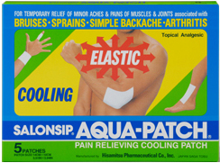 Salonpas Aqua Patch, 5 pieces