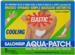 Salonpas Aqua Patch, 5 pieces
