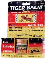 Tiger Balm Ointment, ultra strength, non-staining, 18 grams, 0.63 oz